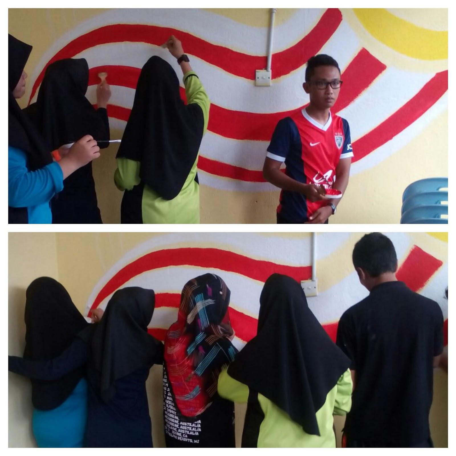 Smk lubok china hebat cemerlang kem aspirasi kelab 1 malaysia for Mural 1 malaysia
