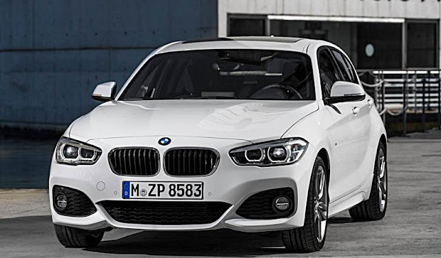 2016 BMW F52 1 Series Sedan Spied