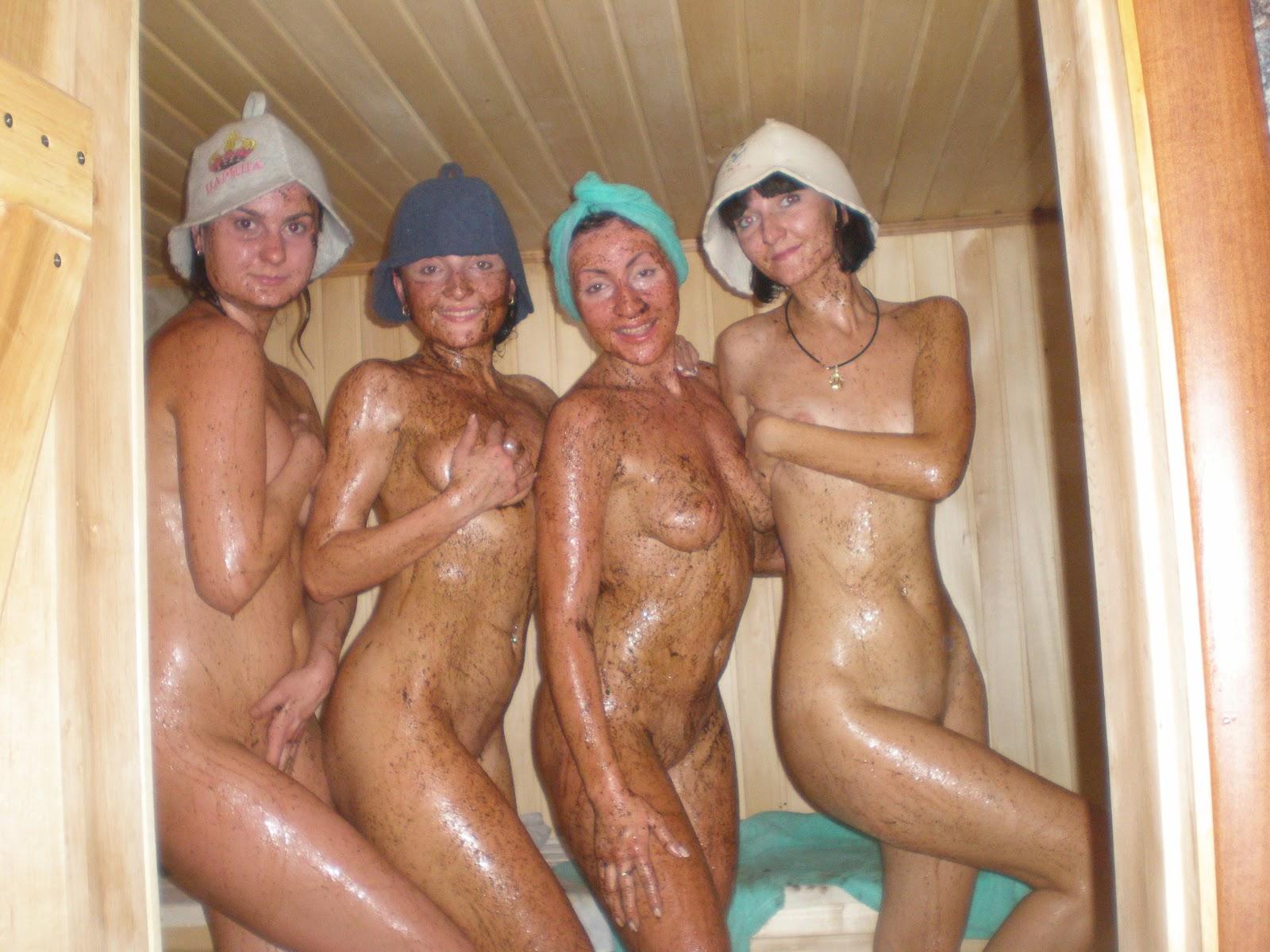 Фото голые в бане семья 25 фотография