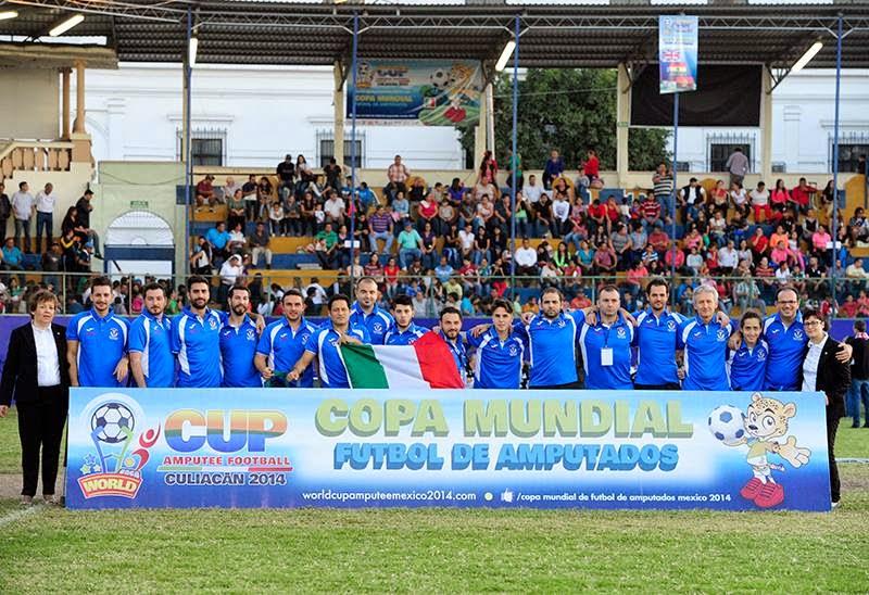 mondiali calcio amputati