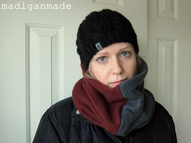 cowl scarf fail