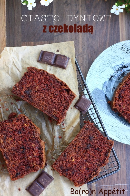 Przepis na ciasto z tartą dynią