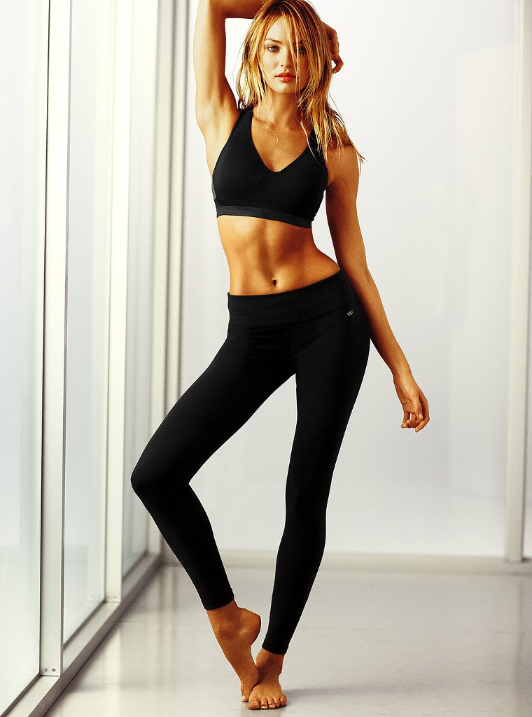 Candice Swanepoel (Victoriau0026#39;s Secret work out clothes July 2011) - Models Inspiration