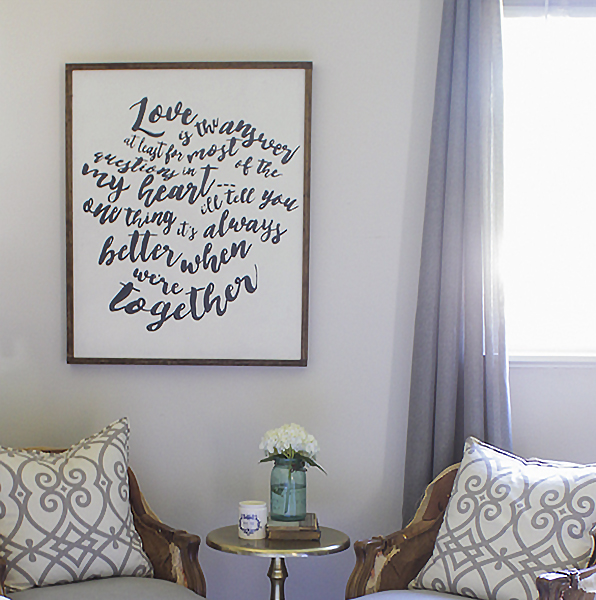 Diy Wall Art That Looks Expensive : Expensive looking diy projects little house of four