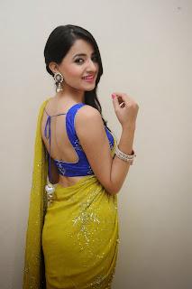 Ruksha Meer sizzling in saree 013.JPG