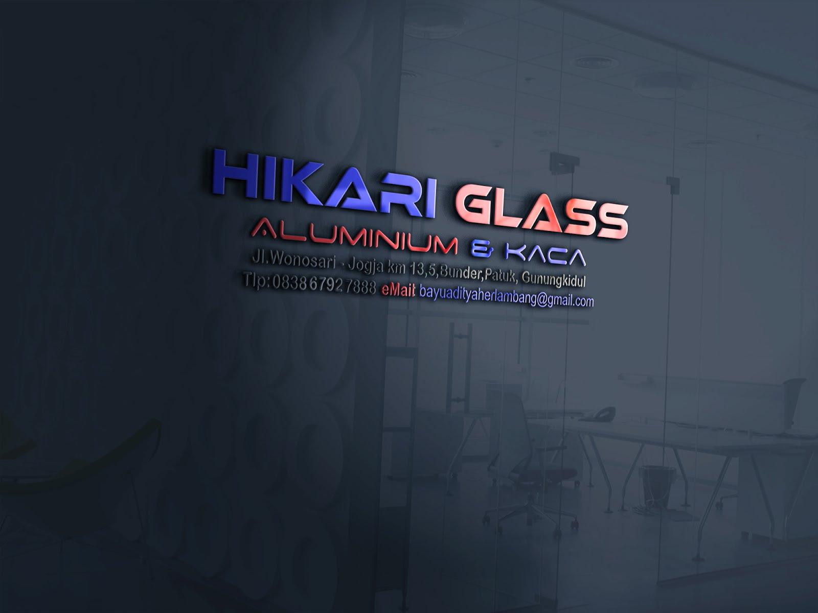 """TOKO ALUMINIUM KACA MURAH JOGJA """"HIKARI GLASS"""" 083867927888"""