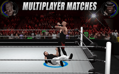 WWE 2K apk data premium