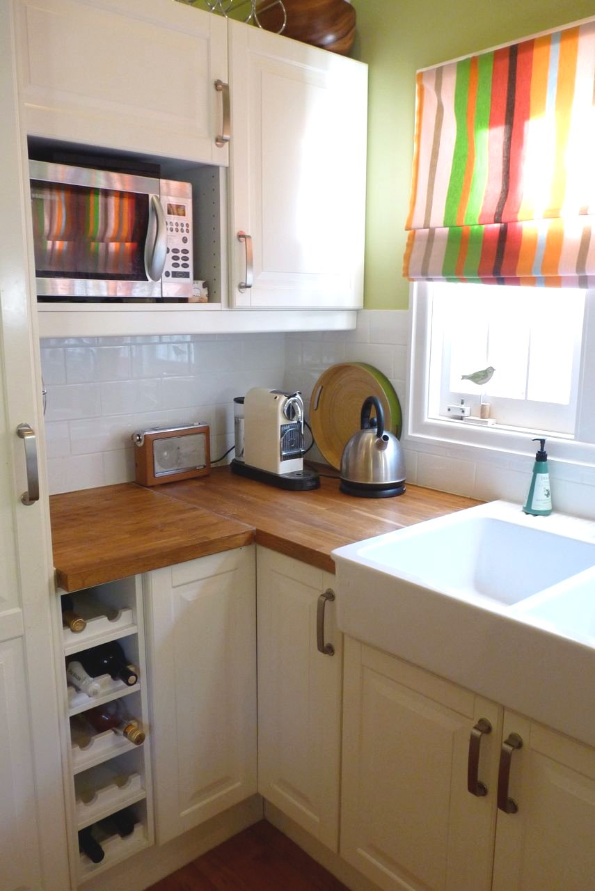 Tchotchkes etc.: Before and After: Our Kitchen