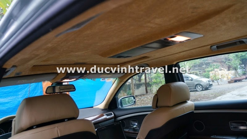 Cho thuê xe BMW 745Li Vip 4