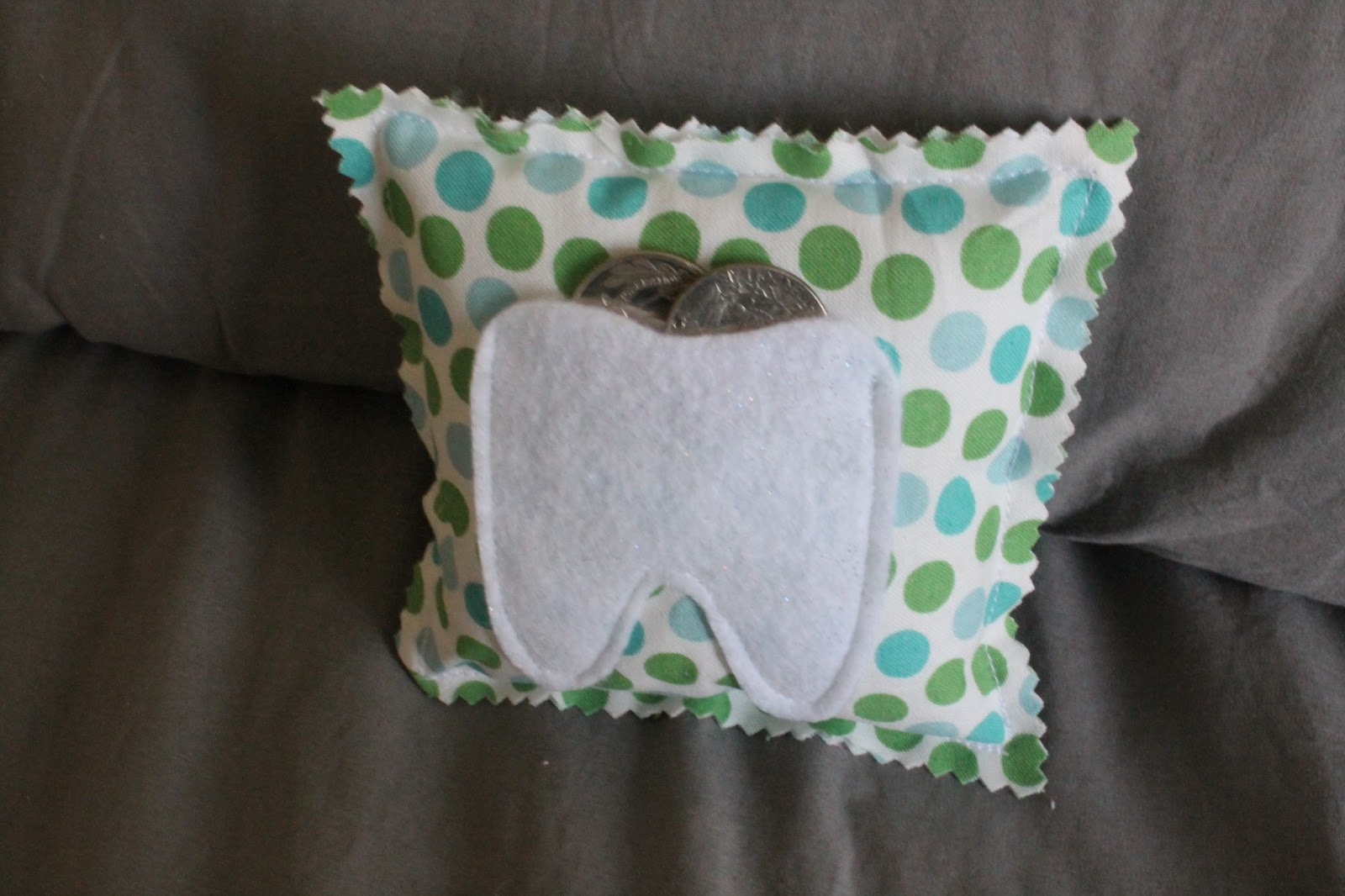 Tooth Fairy Pillow - Find it, Make it, Love it