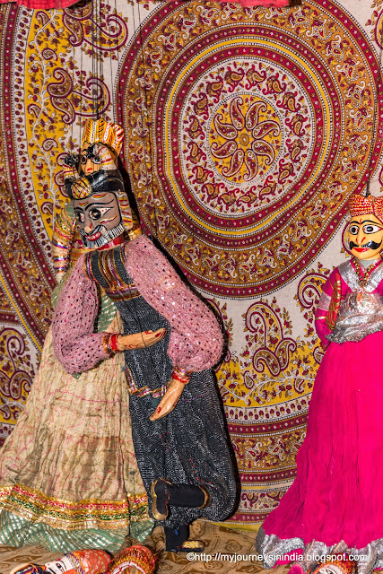 Magician Puppet in Puppet Show Rajasthan