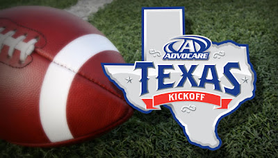 Beginning in 2013, the Texas Kickoff event will officially be named the AdvoCare Texas Kickoff and will be featured on Labor Day weekend at Reliant Stadium in Houston.