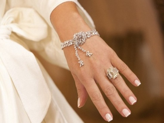 O anel de noivado de Kim Kardashian