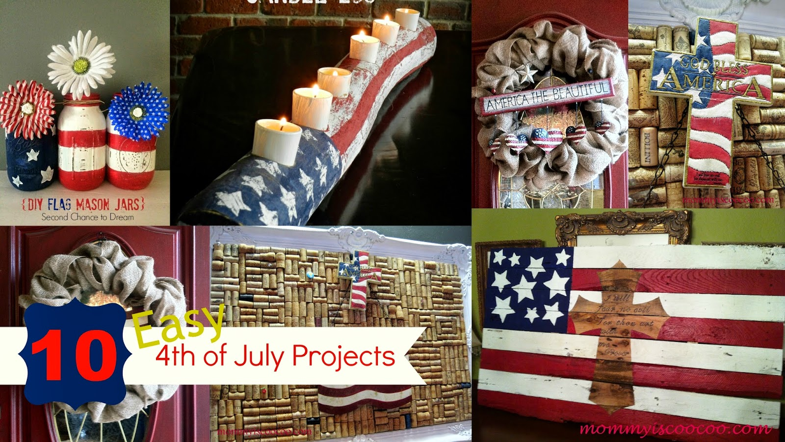 4th of july projects from mommy is coocoo