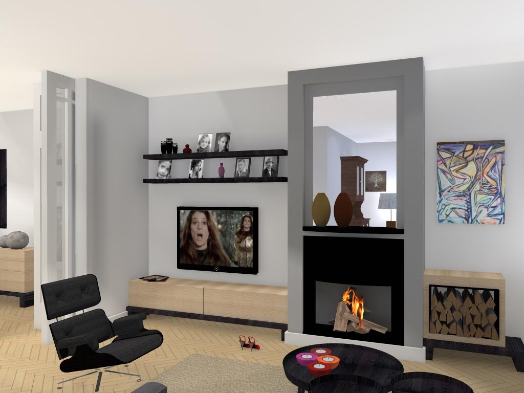 Arnoud herberts interieurarchitect wijzigingen aanbrengen for Woonkamer ontwerpen