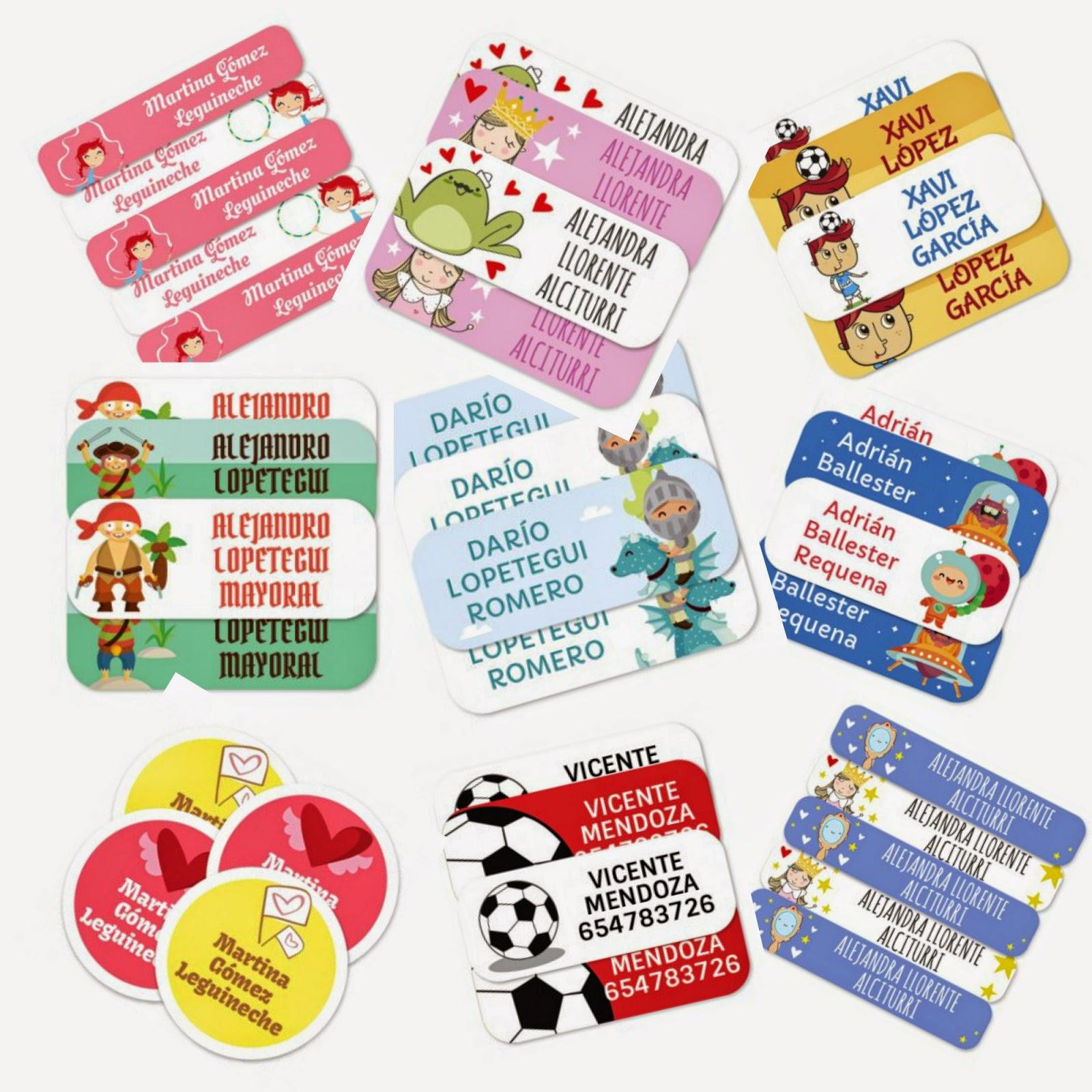 etiquetas ropa niños fun choices