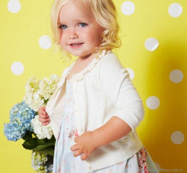 moda en ropa para niñas verano 2014