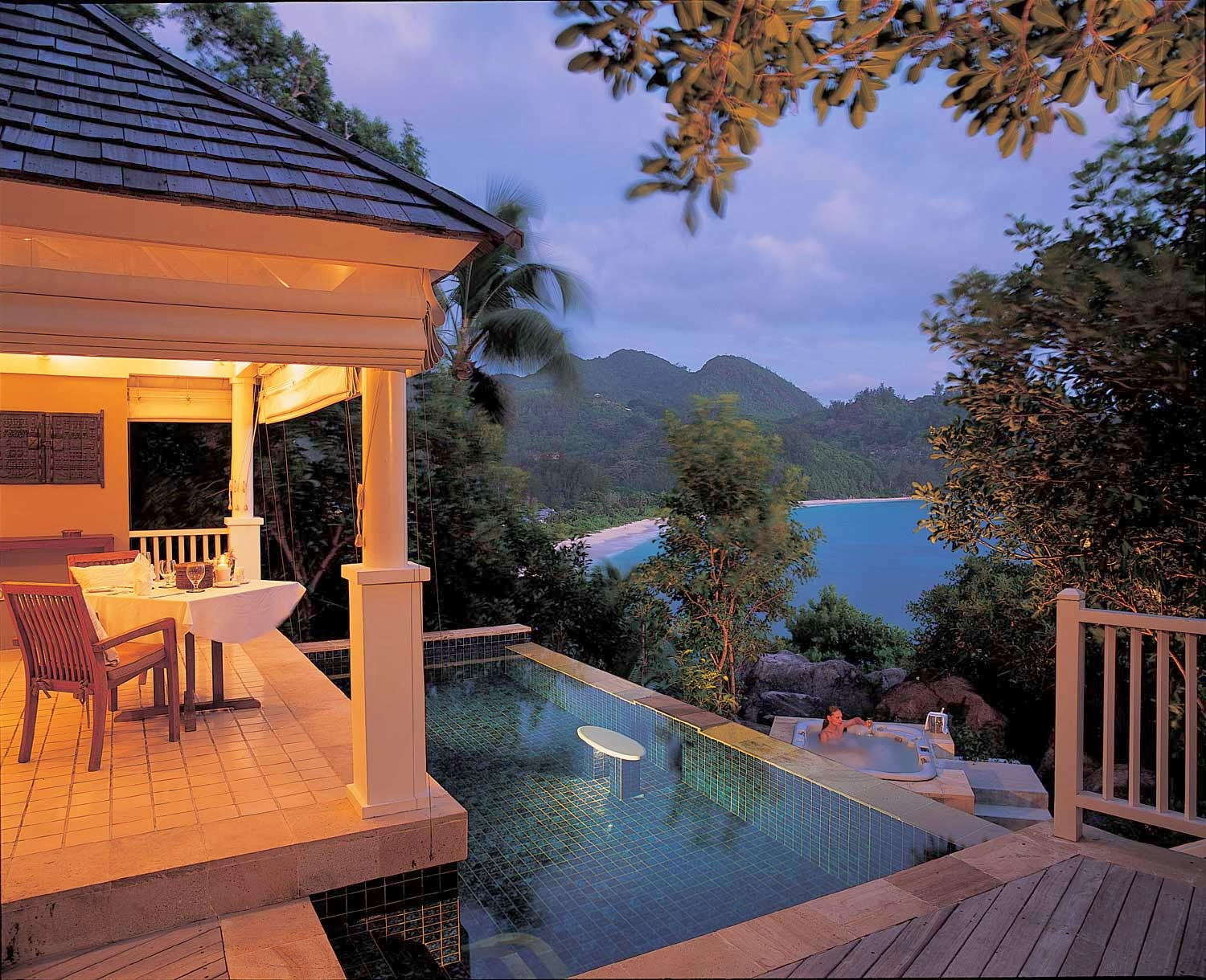 Passion for luxury banyan tree seychelles for Jardin 4 epices