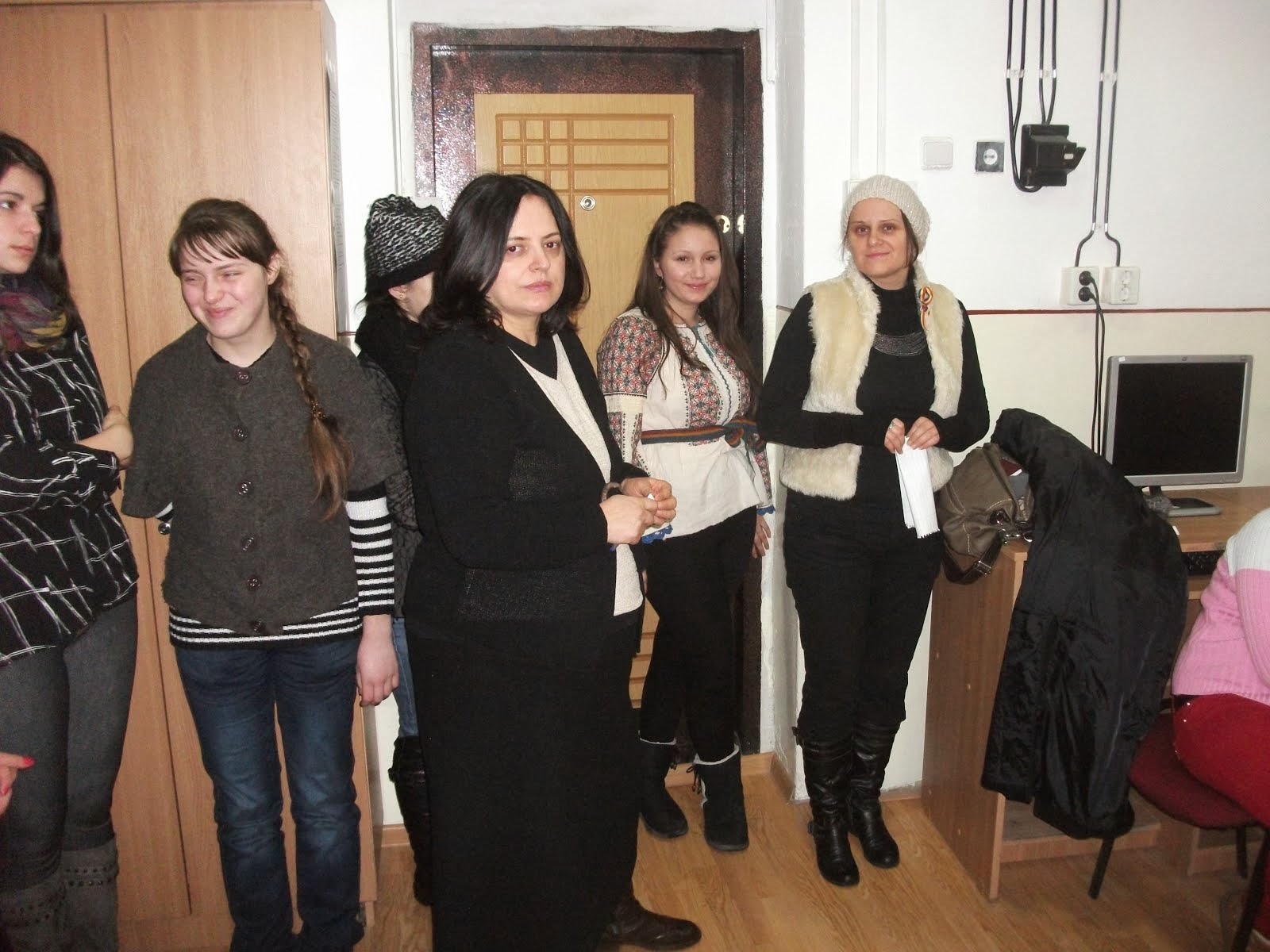 Aniversarea Unirii Principatelor la Liceul Teoretic Roznov, 24.01.2014...