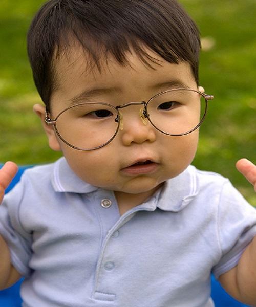 Photo bébé asiatique