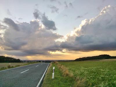 Bild Straße Himmel Wolken