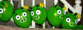 Angry Birds Party Decor
