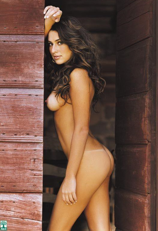 Mulheres As Belas Fernanda Paes Leme Nua Na Playboy