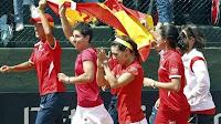 TENIS-Las españolas están de vuelta en el Grupo Mundial