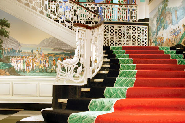 the greenbrier staircase