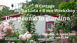 Workshop Una peonia in giardino