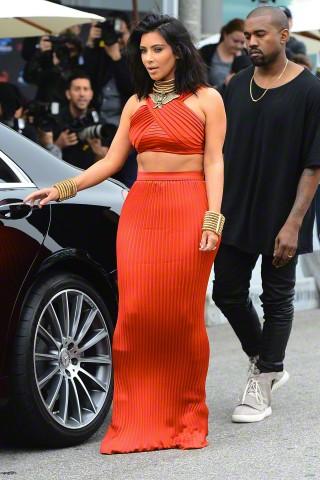 Kimye At Roc Nation Brunch