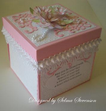 Daisy Explosion Box & Selmau0027s Stamping Corner and Floral Designs: Daisy Explosion Box Aboutintivar.Com