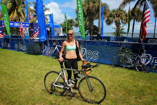 Bike Drop Off at Escape to Miami Triathlon