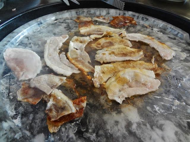 korean bbq samgyupsal pork meat johor bahru kimchi and bbq