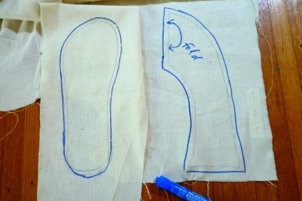 Megan Ta Da: House Slippers To Be Sewn