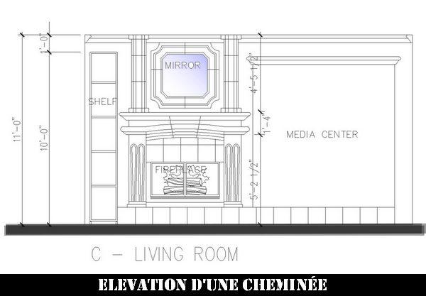 Plan And Elevation Cuisine : Élévations d espaces intérieurs cuisines séjours sdb