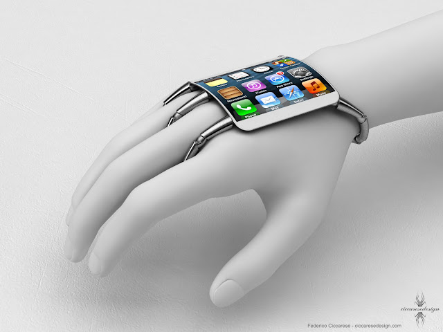 iPhone 5 Concept With Curved Glass