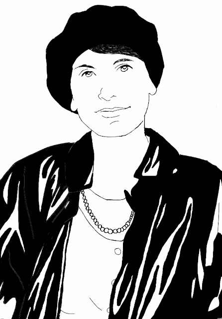 Anna Freud Sketch - Famous Psychotherapists