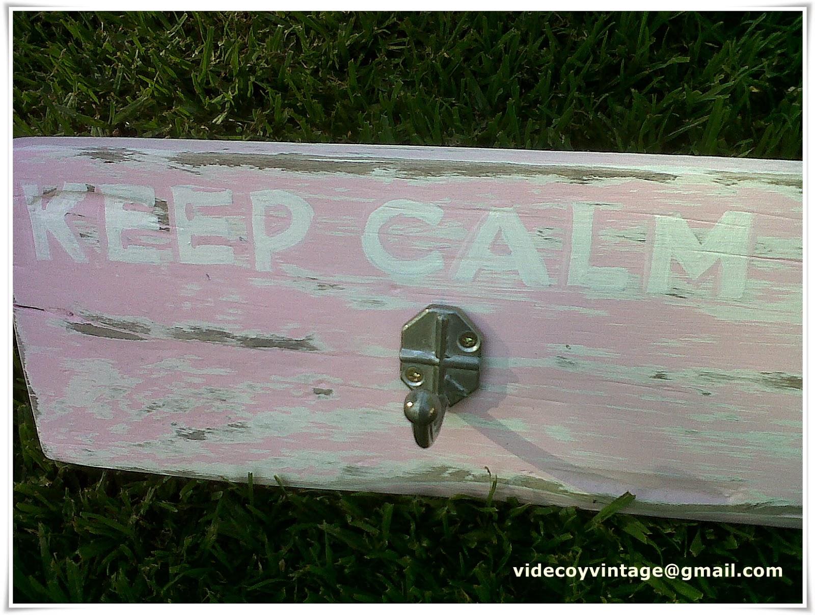 Videcoyvintage deco perchero de cocina rosa for Perchero para cocina