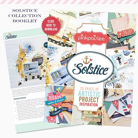 Solstice Artistic Project Inspiration | Pink Paislee