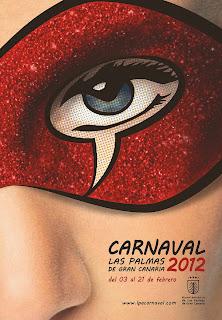 Cartel del carnaval de Las Palmas de Gran Canaria -