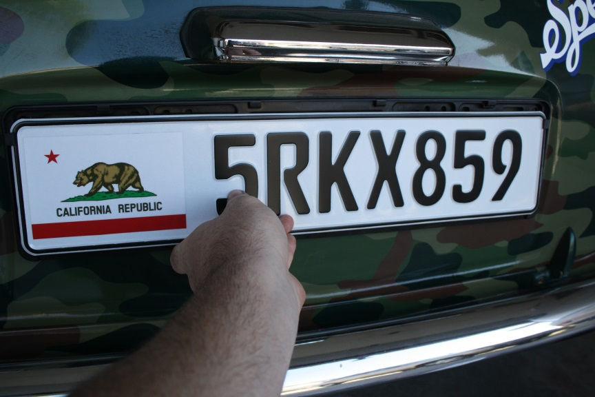 Project Mini: Custom European license plate install ...