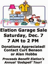 Elation Garage Sale