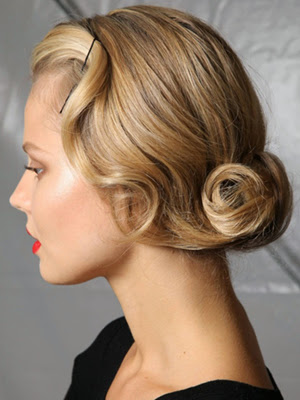 look vintage peinados 2014
