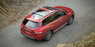 2013 Nissan Pathfinder moonroof