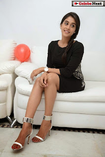 Actress Regina Candra Latest  Pictures in Black Short Dress  0123.jpg
