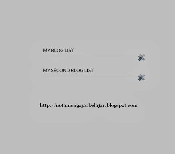 My Blog List Hilang