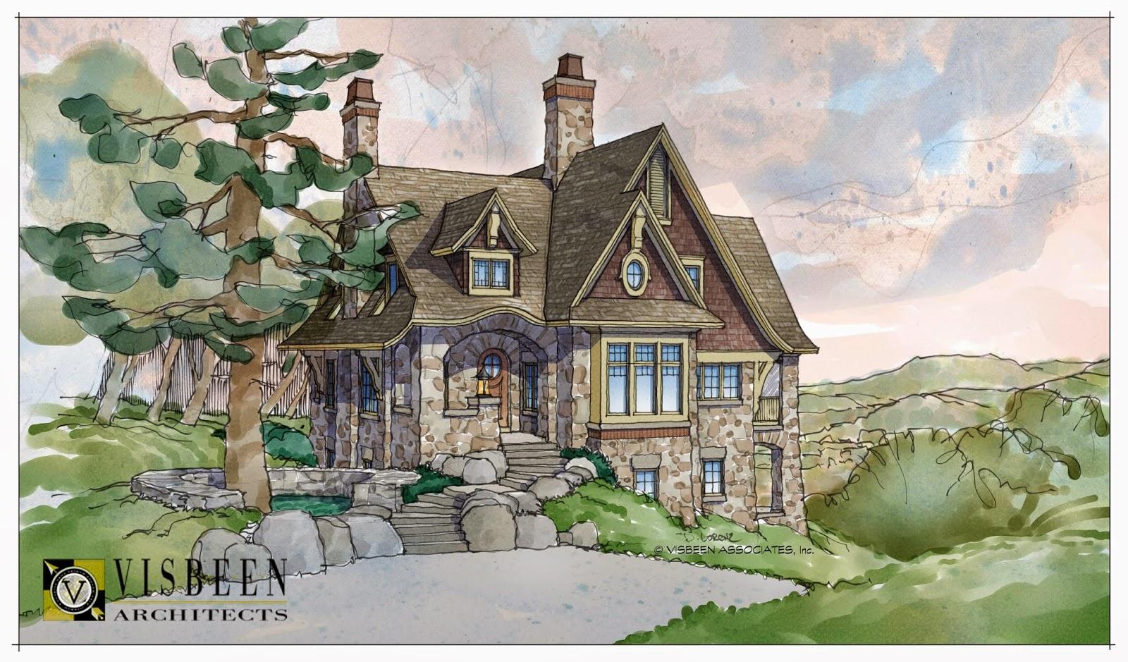 Fairytale cottages home decoration ideas for English cottage house plans