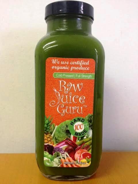Raw Juice Guru Juice