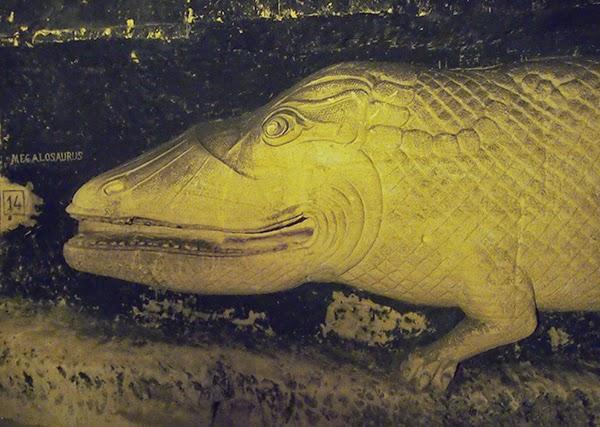 megalosaurus fluweelengrot